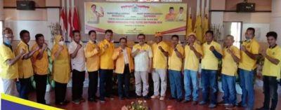 Menghadapi Perhelatan Politik 2024 Partai Golkar Kabupaten Wakatobi Terus Lakukan Evaluasi Kinerja