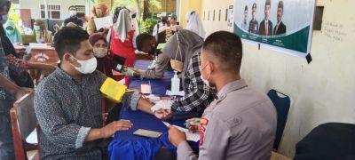 Polres Wakatobi Vaksinasi Serentak Pelajar di SMA Negeri 1 Wangi-wangi